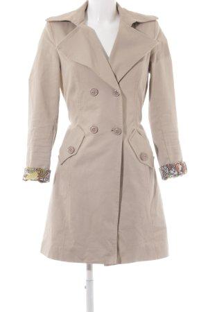 Vestino Trenchcoat beige Ethnomuster Casual-Look