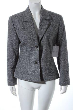 Vestino Woll-Blazer schwarz-weiß Casual-Look