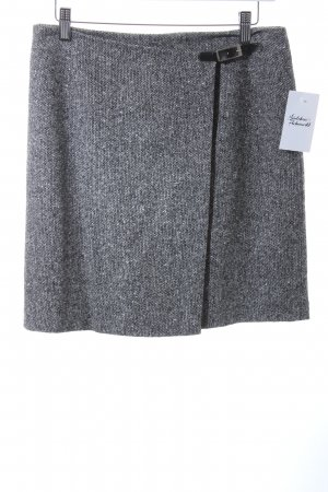Vestino Wollrock schwarz-weiß Casual-Look