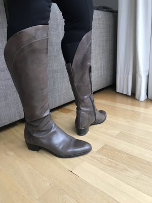 Vero Cuoio Jackboots taupe leather