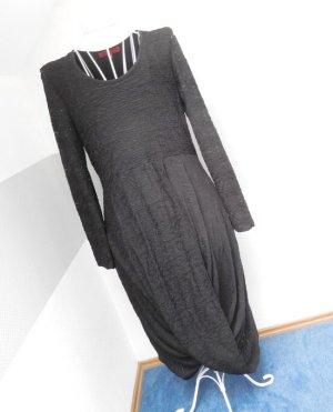 Vetono Shirtkleid Schwarz Neuwertig