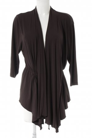 Via appia due Cardigan black brown casual look