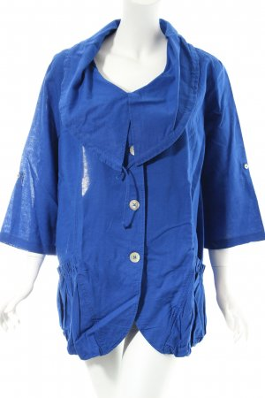 Via appia due Jacke blau Marine-Look