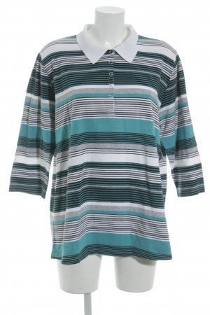 Via appia due Polo-Shirt Streifenmuster Casual-Look