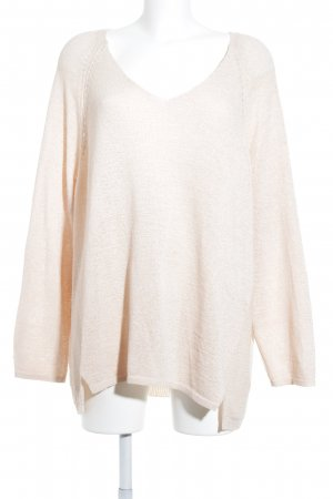 Via appia due Strickpullover apricot Casual-Look