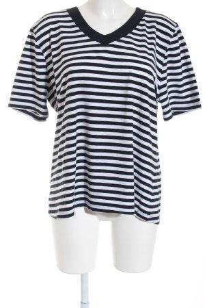 Via appia due T-Shirt dunkelblau-weiß Marine-Look