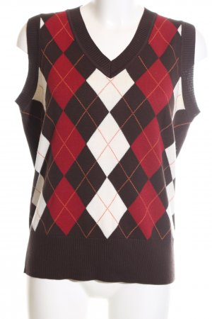 Via Appia Fine Knitted Cardigan graphic pattern casual look
