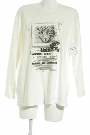 Via Appia Longsleeve Animalmuster Animal-Look