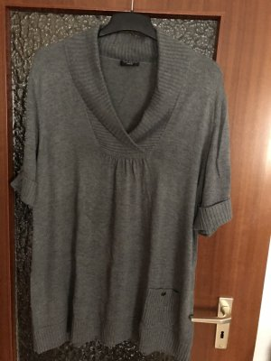 Via Appia Long Cardigan grey
