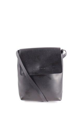 Via Firenze Umhängetasche schwarz minimalistischer Stil
