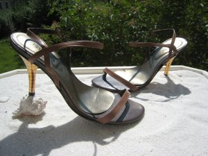 Via uno High Heel Sandal multicolored leather