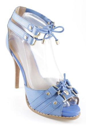 Via uno High Heel Sandal cornflower blue extravagant style