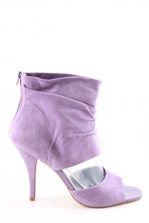 Via uno High Heels lila Casual-Look