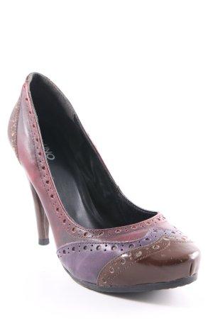 Via uno High Heels mehrfarbig klassischer Stil