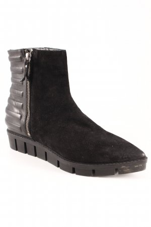 vic Botines negro-color plata look casual