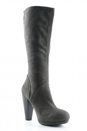 Vic Matie Absatz Stiefel graubraun Elegant