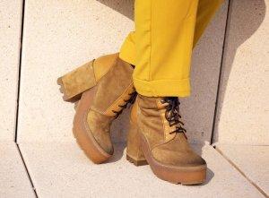 Vic Matie Absatz Stiefel mehrfarbig Street-Fashion-Look