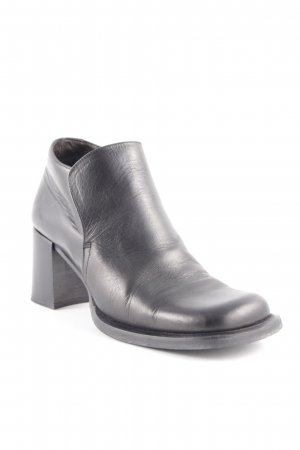 Vic Matie Ankle Boots dunkelbraun Retro-Look