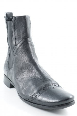 Vic Matie Chelsea Boots schwarz Casual-Look