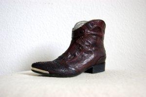Vic Matié Cowboyboots, vintage Stiefeletten Metallspitze