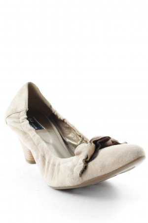 Vic Matie Keil-Pumps creme Casual-Look