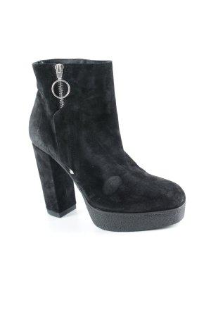 Vic Matie Plateau-Stiefeletten schwarz Street-Fashion-Look