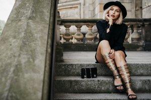 Vic Matie Römer-Sandalen mehrfarbig Street-Fashion-Look