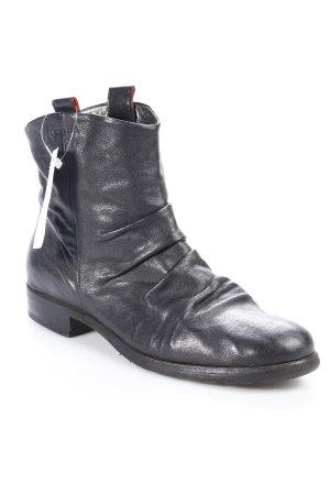 Vic Matie Schlüpf-Stiefeletten schwarz Casual-Look