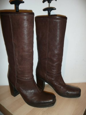 Vic Matie Slouch Boots brown leather