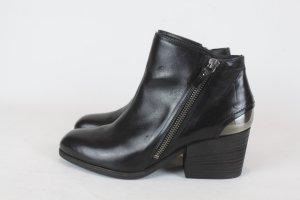 VIC MATIE Stiefelette Ankle Boots Gr. 36 schwarz Leder NEU (18/12/K)