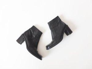 Vic Matie Stiefeletten Gr. 38 schwarz Leder