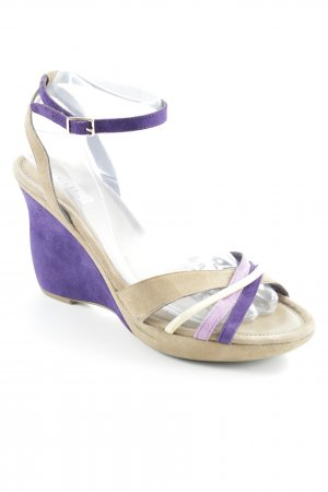 Vic Matie Wedges Sandaletten mehrfarbig Casual-Look
