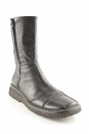 Vic Matie Wide Calf Boots black casual look