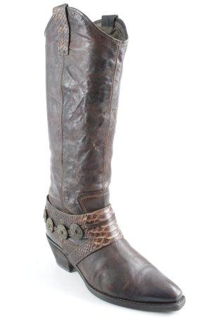 Vic Matie Western Laarzen bruin-donkerbruin country stijl