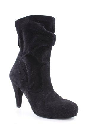 vic Reißverschluss-Stiefeletten schwarz schlichter Stil