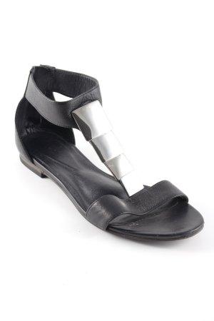 vic Römer-Sandalen schwarz Elegant
