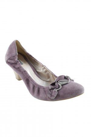 vic Slingback-Pumps blasslila Romantik-Look
