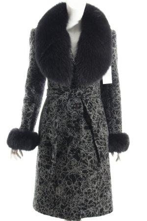 Vice Wintermantel schwarz-grau Street-Fashion-Look