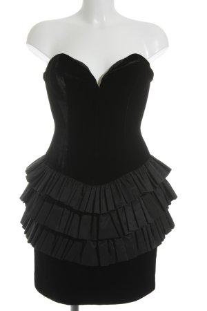 VICKYTIEL Cocktailkleid schwarz Elegant
