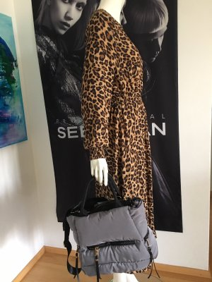 Vicolo Animal Print maxikleid mit Tasche Valentins Tag Special Small