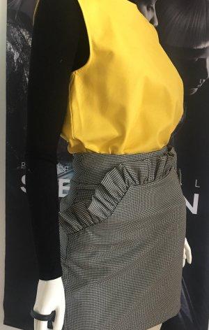 Vicolo Designer Leder gilet Rock Carolina Bell & intimissimi Shirt small