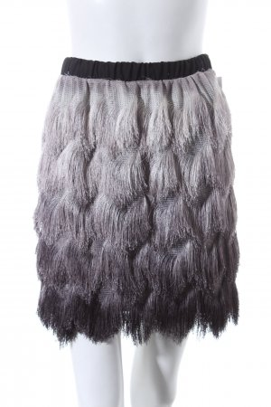 Vicolo Fringed Skirt multicolored street-fashion look