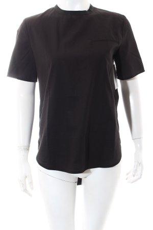 Vicolo Kurzarm-Bluse schwarz Casual-Look