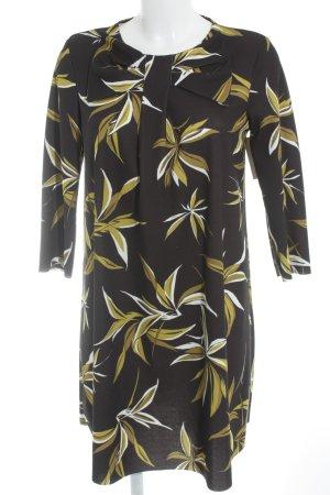 Vicolo Langarmkleid florales Muster Business-Look