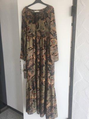 VICOLO neu langes Kleid im Ethno Look
