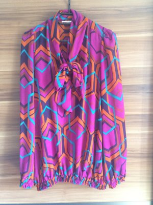 Vicolo * Sommer Bluse Tunika lila violet Gr. S 36 * NP €79