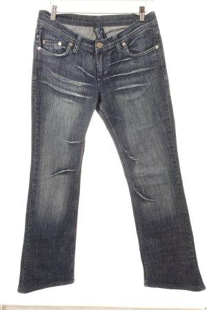 Victoria Beckham Boot Cut Jeans dunkelblau Urban-Look