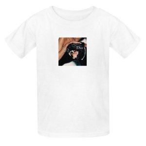 Camicia fantasia bianco-nero Cotone