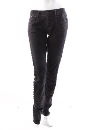 Victoria Beckham Hüftjeans viereckige Nieten
