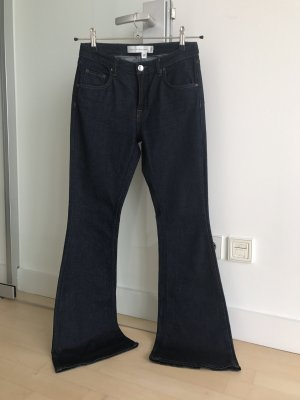Victoria Beckham Jeans a zampa d'elefante blu